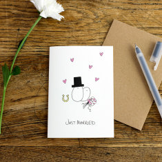 Wedding day greeting card (pack of 6)