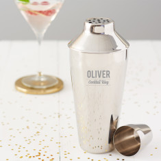 Personalised Cocktail King Cocktail Shaker