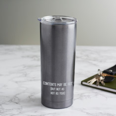Personalised Hot Contents Travel Cup