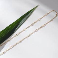 Siren 18k gold vermeil long necklace
