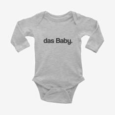 das Baby printed long sleeve baby onesie