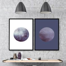 Watercolour Moon Art Print (Two Designs)