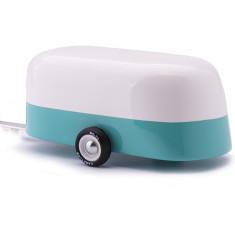 Candylab camper teal toy caravan