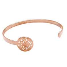 Tangier open cuff in rose gold plate