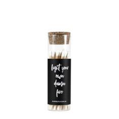 Light Your Own Damn Fire - Glass Vial Matches