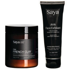 French Pink Clay + AHA Face Exfoliant