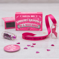 Personalised Message For Grandma In A Matchbox