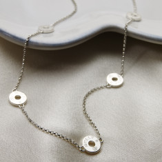 Ladies Sterling Silver Innes Necklace