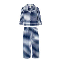 Navy Gingham Pyjamas