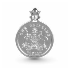 Australian Shield Design Shilling Pendant