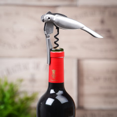 Chrome Corkatoo Opener and Corkscrew