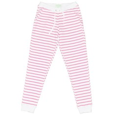 Pink zebra women's sweat pants