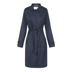 Women's packable raincoat in after dark