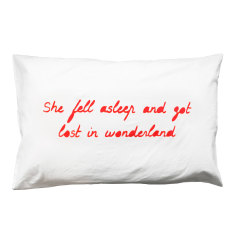 Wonderland Pillowcase