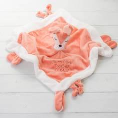 Personalised Fox Comforter Blanket
