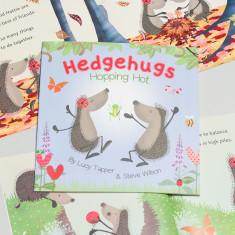 Hedgehugs 'Hopping Hot' Children's Book