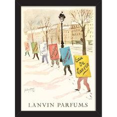 Lanvin Parfums Print