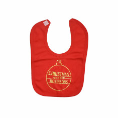 Christmas With The… Personalised Baby Bib