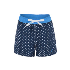 Boys' UPF 50+ star print swimshort with drawstring waist