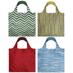 LOQI elements collection reusable bag (various designs)