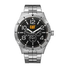 CAT CAMDEN series watch in steel & black