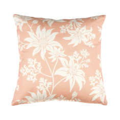 Flannel Flower Cushion Cover in Blush