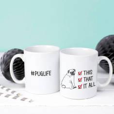 Puglife Checklist Mug