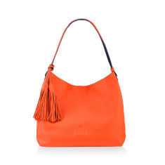 Sofala Reversible Hobo Bag In Orange