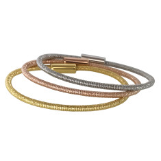 Cable bangle (various colours)