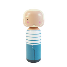 Kokeshi Doll - Jean Paul