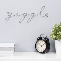 Giggle Wire Word Sign