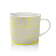 Kami coffee mug in yellow