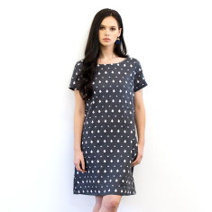 Diamond Smock dress