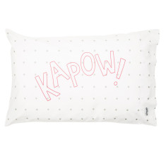 Pillowfight club KAPOW pillowcase
