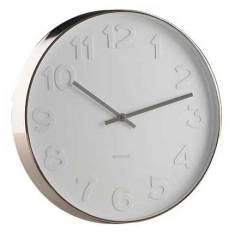 Karlsson Mr White Numbers XL - Wall Clock