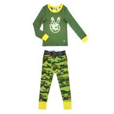 Peace Keeper drop crotch pant pyjama set