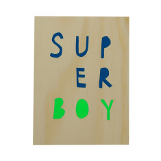 Superboy ply screenprint