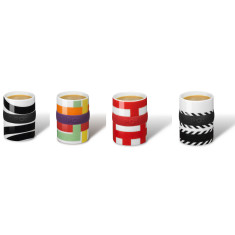 PO:Selected ring espresso cups (set of 4)
