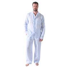 Bora Bora blues men's pj pants