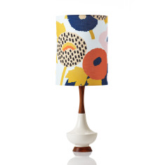 Electra table lamp large in Dahlia Floral