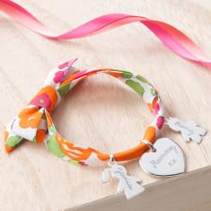 Personalised Liberty Family Bracelet
