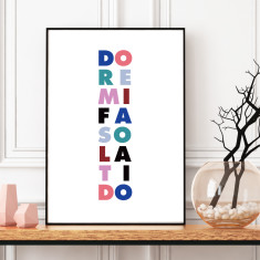 Do re mi art print (various sizes)