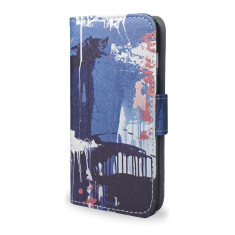 Falling Paint iPhone 7 Wallet Phone Case