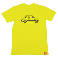 Fiat 500 men's organic t-shirt
