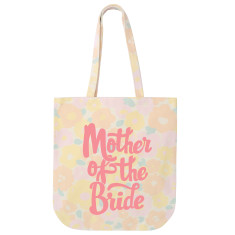 Mother Of The Bride Floral Tote Bag