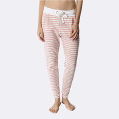 Santa Monica Pants Blush & White