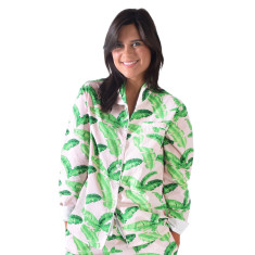 Tropical punch women's long pj shirt