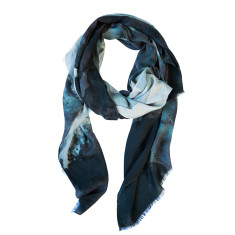 Black Ink Wool scarf
