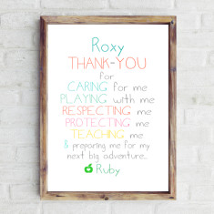Thank-you teacher print