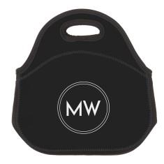 Personalised Neoprene Lunch Bag - Monogram